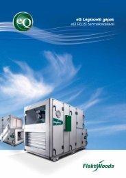 eQ Légkezelő gépek eQ PLUS termékskálával - Szanyó Hűtő- és ...