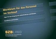 download neuste Version - SZB Schweizerischer Zentralverein für ...