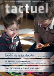 tactuel Nr. 2 / 2012 zum Download (pdf) - SZB Schweizerischer ...