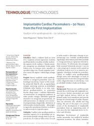 Implantable Cardiac Pacemakers – 50 Years from the First ...