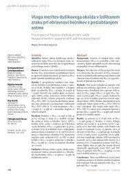 Vloga meritev dušikovega oksida v izdihanem zraku pri obravnavi ...