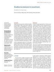 Sladkorna bolezen in nosečnost