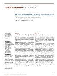 Fatalna anafilaktična reakcija med anestezijo