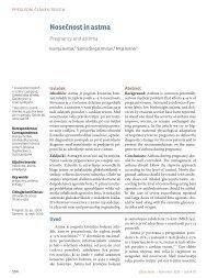 Nosečnost in astma