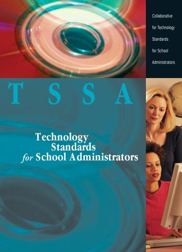 Technology Standards for School Administrators - Education ...