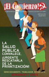 El Comienzo - Suplemento en defensa de la Salud Pública y la Seguridad Social