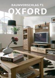 Oxford Speise- und Wohnzimmer Raumvorschlag #1 - Gomab