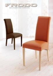 Stuhl in Textilleder • Chair in Textile Leather