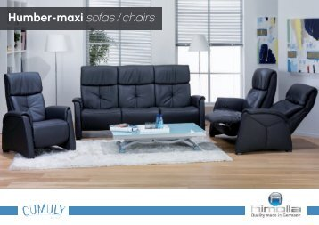Humber-maxi sofas / chairs
