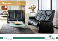 Shannon sofas / chairs