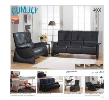 Gallery Of Longlife Soft Rabe Variante Mit Und With Sofa Mit Cumuly Funktion