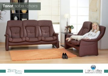 Tanat sofas / chairs
