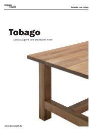 RZ MT 00013 Tobago Katalog - masstisch.de