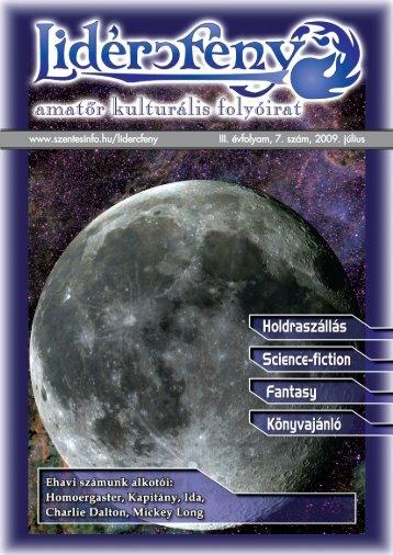 Lidércfény Amatőr Kulturális Folyóirat III. évfolyam 7. szám