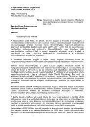 Beszámoló a Lajtha László Alapfokú Művészeti Iskola és ...