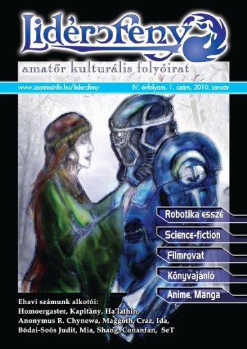 Lidércfény Amatőr Kulturális Folyóirat IV. évfolyam 1. szám
