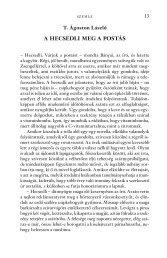 T.Ágoston László: A hecsedli meg a postás (Életünk, 2009/11-12.)