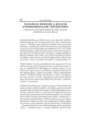 Filológiai morzsák a magyar gyermekirodalom történetéből (Csillag ...