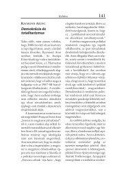 Raymond Aron: Demokrácia és totalitarizmus (Pápay György)