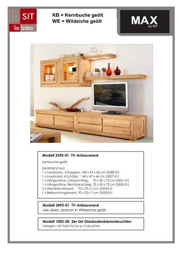 Kernbuche massiv - Skan Design Studio GmbH