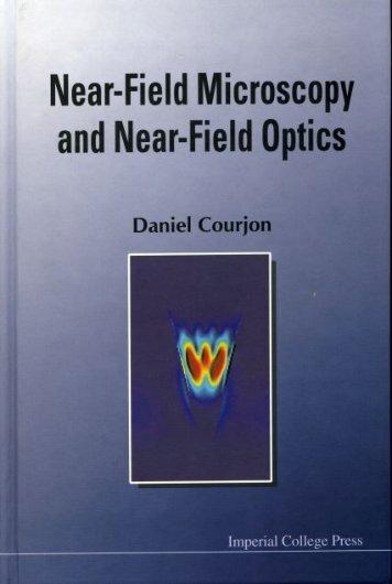 Near-Field Microscopy and Near-Field Optics