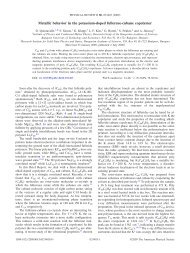 Metallic behavior in the potassium-doped fullerene-cubane copolymer