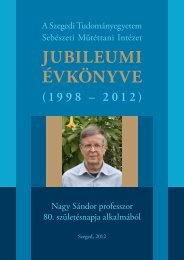 pdf formátumban - Szegedi Tudományegyetem Szent-Györgyi Albert ...