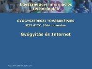 Gyógyítás és Internet