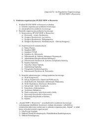 Załącznik Nr 1 do Regulaminu Organizacyjnego - SP ZOZ MSW w ...