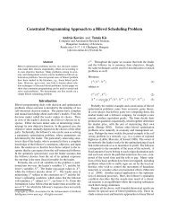Constraint Programming Approach to a Bilevel Scheduling Problem