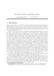 On bilevel machine scheduling problems