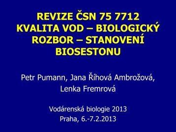 Revize ČSN 757712 - Státní zdravotní ústav