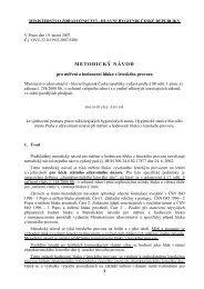 Metodický návod pro měření a hodnocení hluku z leteckého provozu.