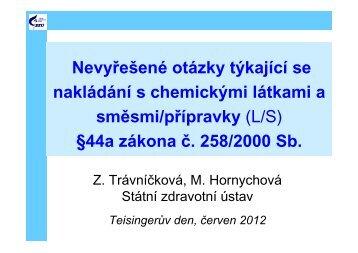 44a zákona č. 258/2000 Sb. - Státní zdravotní ústav