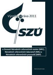Výroční zpráva 2011 - Státní zdravotní ústav