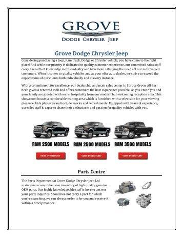 Grove Dodge Chrysler Jeep