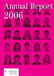 T-Mobile Czech Republic: Annual Report 2006
