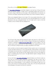 Tips on How to Use the Acer Aspire 1350 Battery and Adapter Properly.pdf