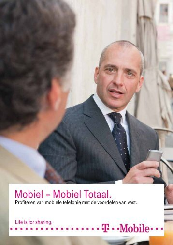 Mobiel – Mobiel Totaal. - T-Mobile