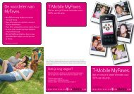 T-Mobile MyFaves.