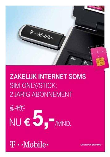 NU € 5,-/MNd. - T-Mobile