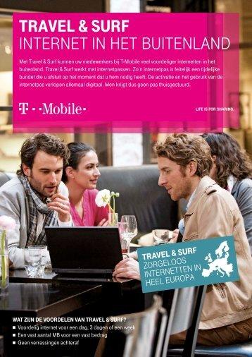 Travel & Surf, zorgeloos internet in het buitenland. - T-Mobile