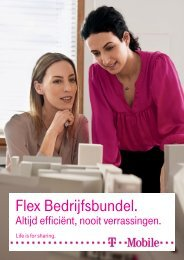 Brochure Flex Bedrijfsbundel - T-Mobile