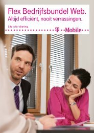 Brochure Flex Bedrijfsbundel Web - T-Mobile