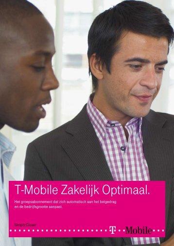 T-Mobile Zakelijk Optimaal.