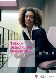 T-Mobile Data Connect-voorwaarden