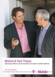 Mobiel & Vast Totaal. - T-Mobile