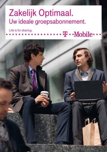 Brochure T-Mobile Zakelijk Optimaal