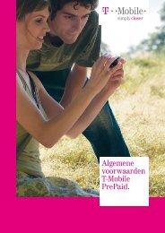 Algemene voorwaarden T-Mobile PrePaid.