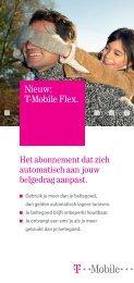 Nieuw: T-Mobile Flex.
